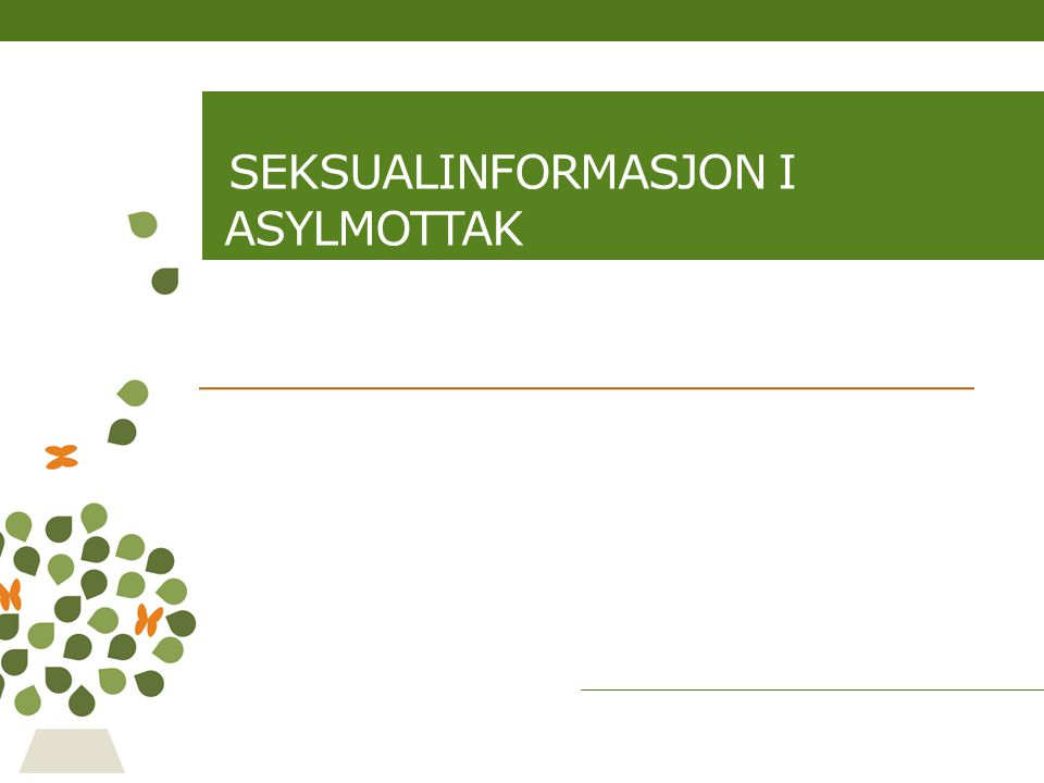 Tema Introduksjon Identitet, følelser og relasjoner Kropp og kjønn Seksualitet og seksuell helse Svangerskap, fødsel og abort Prevensjon Seksuelt overførbare infeksjoner (SOI) Hiv Andre aktuelle tema…