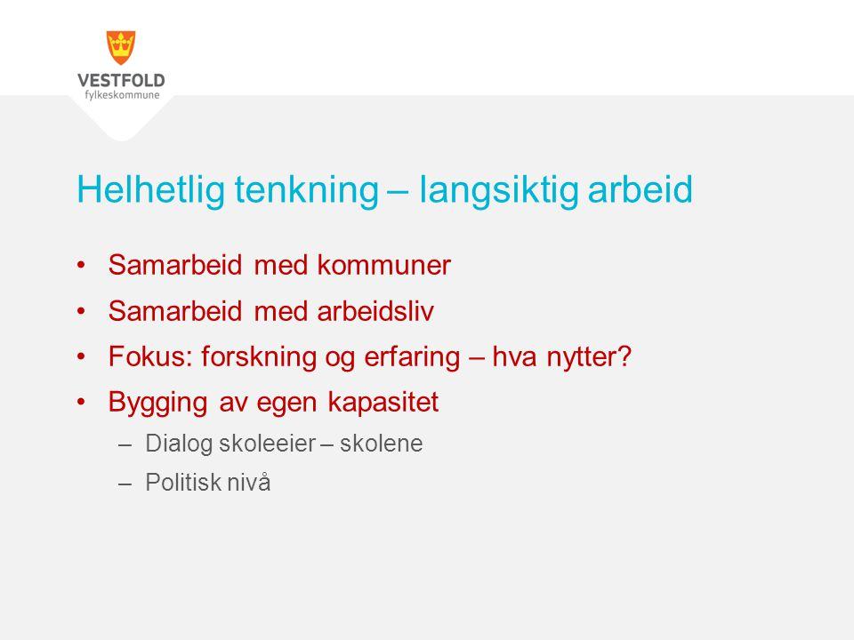 Ikke tilfeldig valgt – Dronning Sonja`s skolepris 2014 Thor Heyerdahl vgs – et eksempel