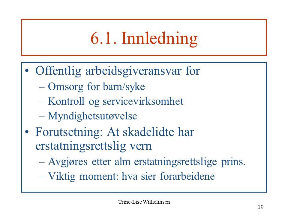 Trine-Lise Wilhelmsen 10 6.1.