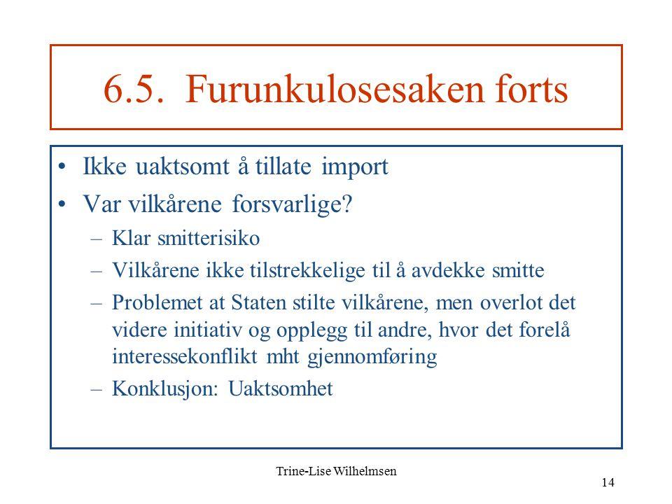 Trine-Lise Wilhelmsen 14 6.5.