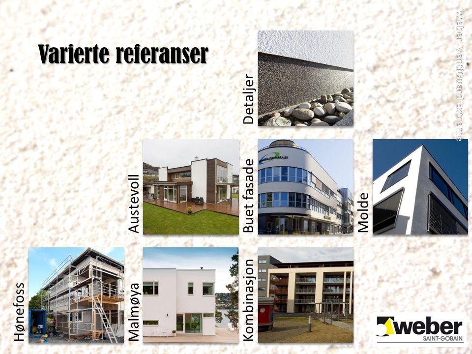 HønefossMalmøyaKombinasjonAustevollBuet fasadeMoldeDetaljer Varierte referanser