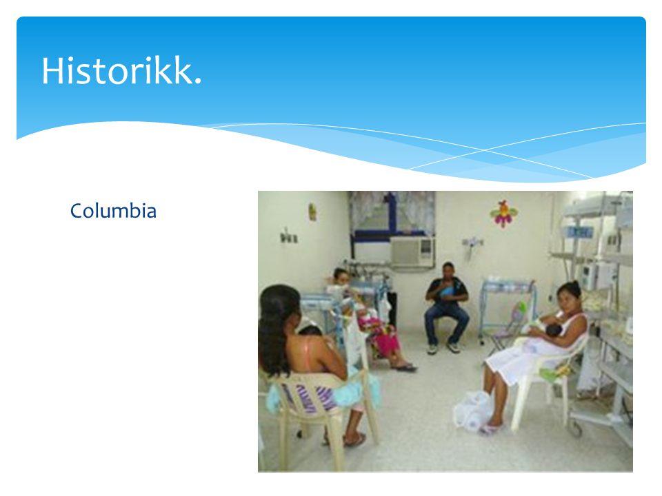 Columbia Historikk.