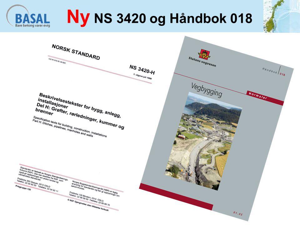 Ny NS 3420 og Håndbok 018