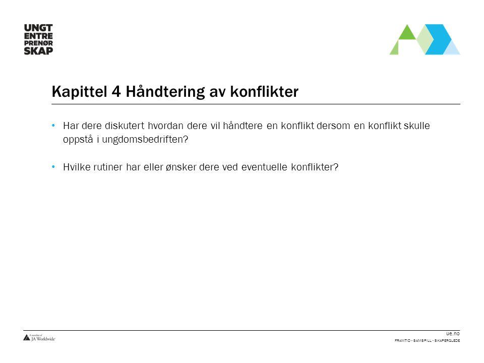 ue.no FRAMTID - SAMSPILL - SKAPERGLEDE
