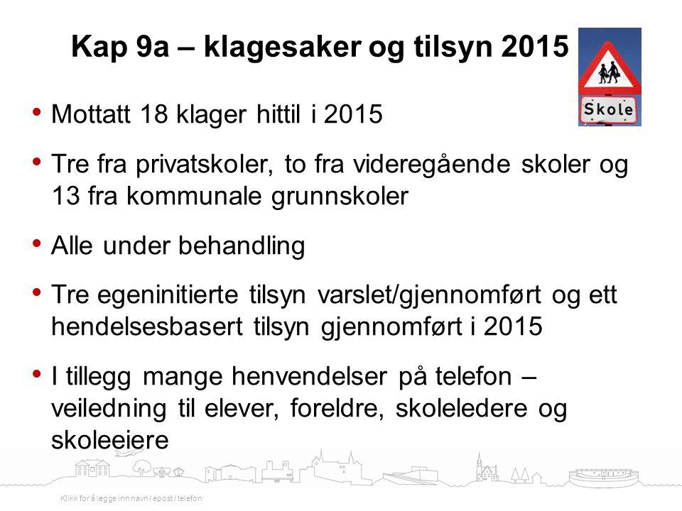 Aktuell informasjon Fylkesmannen i Oslo og Akershus 8. mai 2015