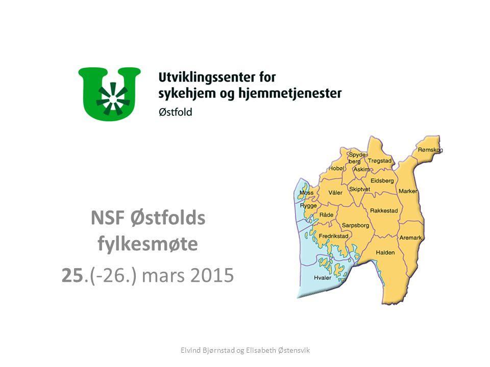 NSF Østfolds fylkesmøte 25.(-26.) mars 2015 Eivind Bjørnstad og Elisabeth Østensvik