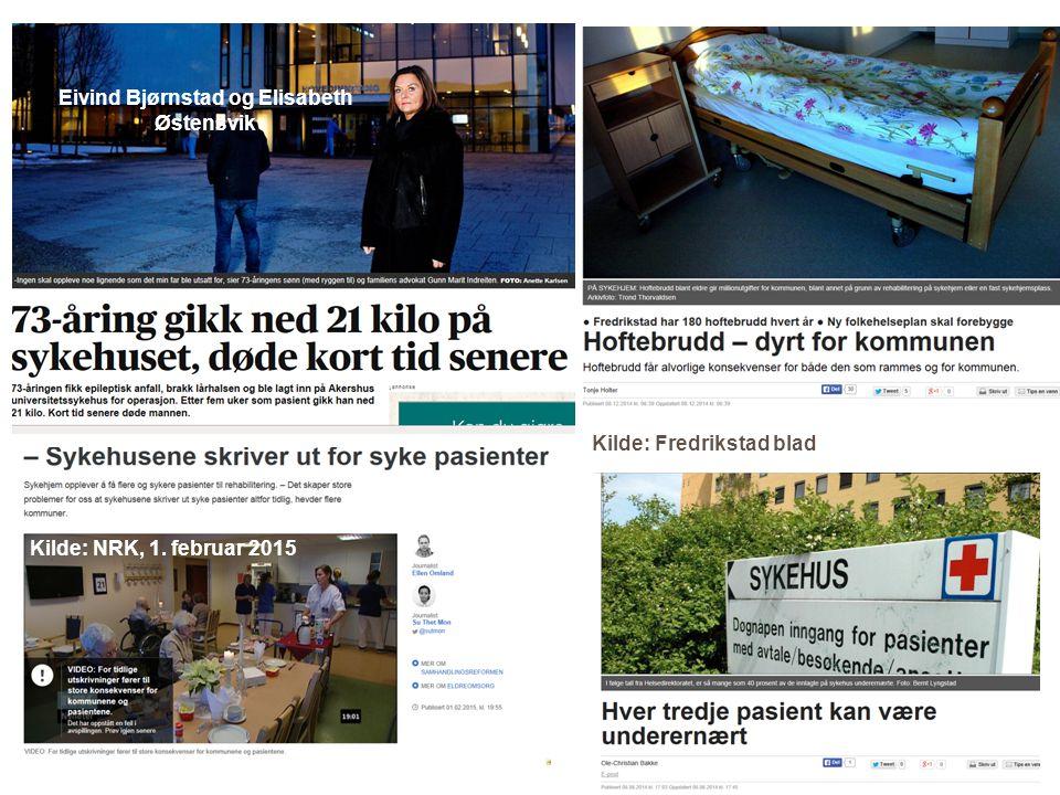 Kilde: Fredrikstad blad Kilde: Østlandssendingen Eivind Bjørnstad og Elisabeth Østensvik Kilde: NRK, 1. februar 2015