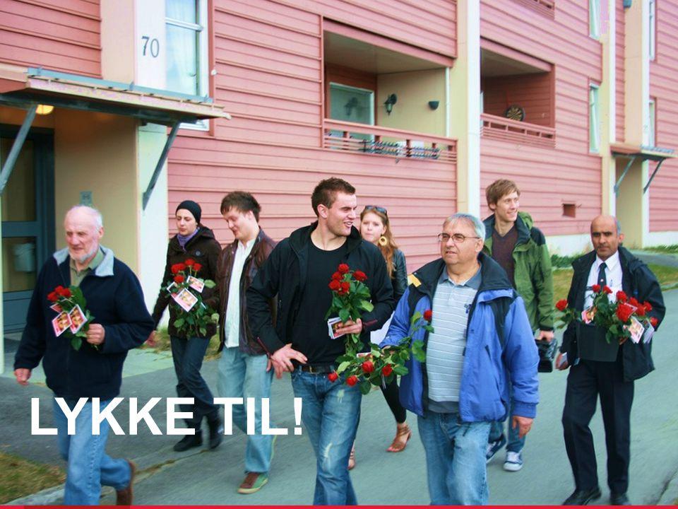 Arbeiderpartiet.no LYKKE TIL!