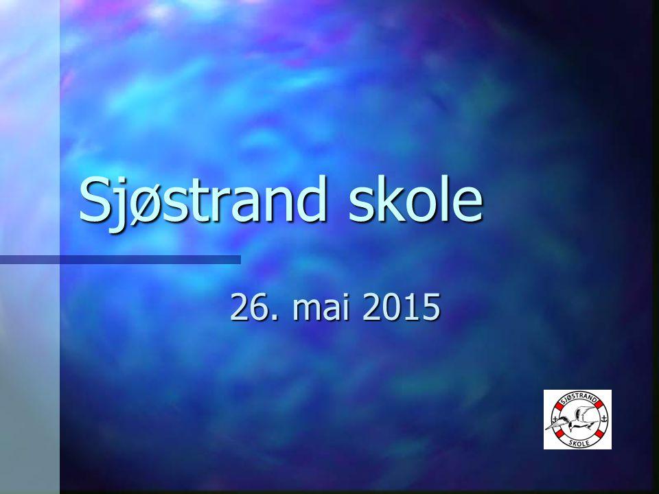 Sjøstrand skole 26. mai 2015