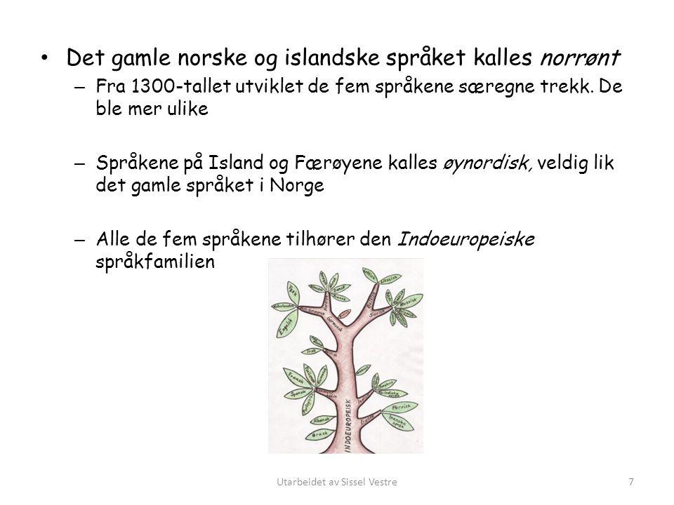 Finsk – skiller seg ut fra de andre skandinaviske språk – Samisk og finsk tilhører den uralske eller finsk-ugriske språkfamilien – Stor utvandring fra Finland til Sverige – ca.