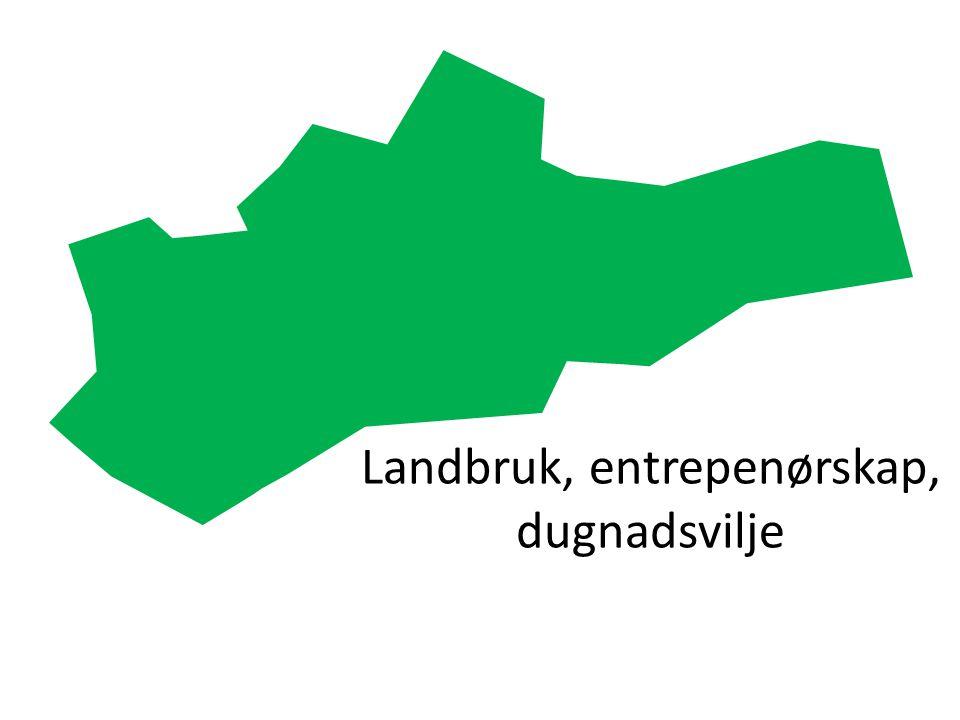Landbruk, entrepenørskap, dugnadsvilje