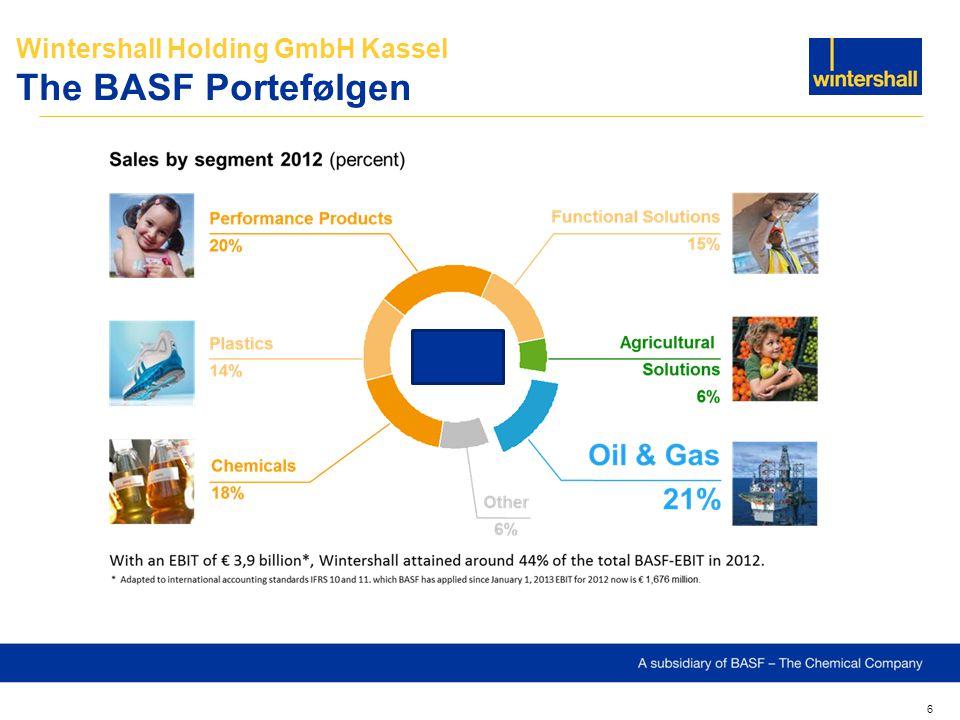 6 Wintershall Holding GmbH Kassel The BASF Portefølgen