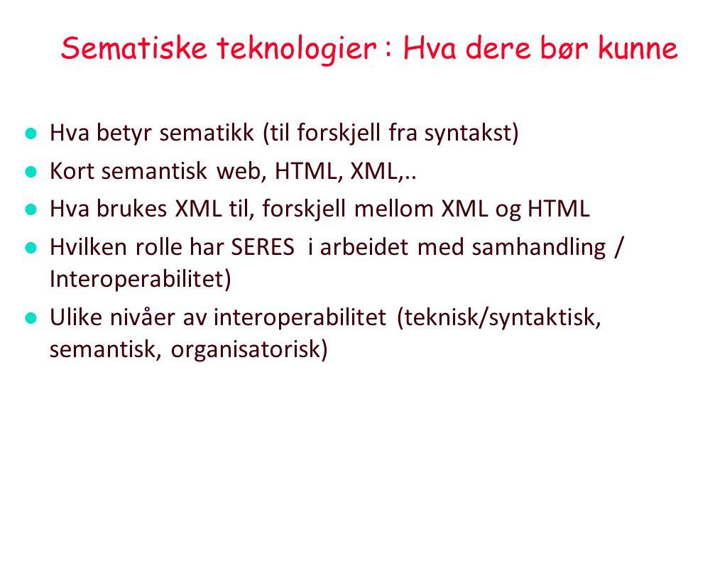 Internet i et nøtteskall – svært forenklet l.l. Bruker-orienterte anvendelser (inkl.