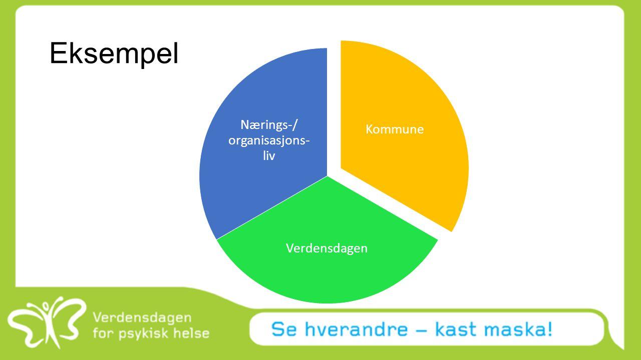 Eksempel Kommune Verdensdagen Nærings-/ organisasjons- liv