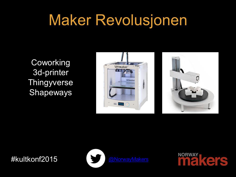 Open Source Crowdfunding Kickstarter #kultkonf2015 Maker Revolusjonen @NorwayMakers