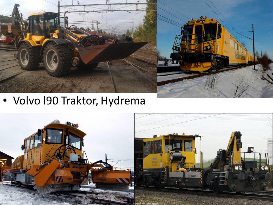 Volvo l90 Traktor, Hydrema