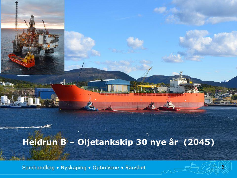 6 Heidrun B – Oljetankskip 30 nye år (2045)
