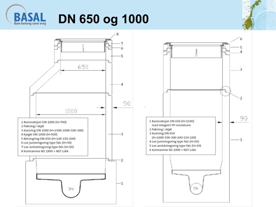 DN 650 og 1000