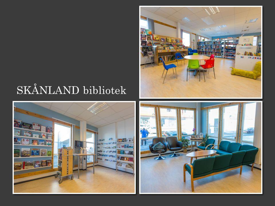 SKÅNLAND bibliotek