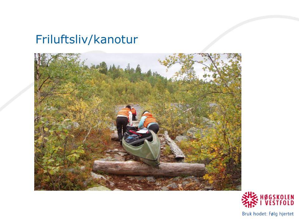 Friluftsliv/kanotur