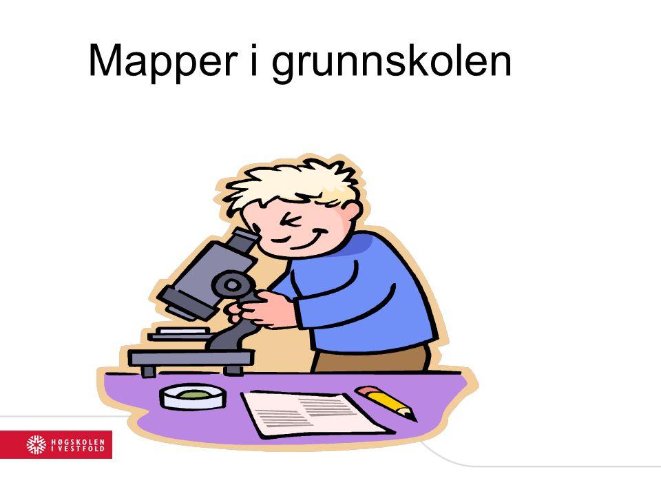 Mapper i grunnskolen