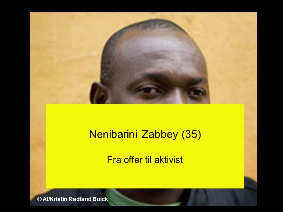 Nenibarini Zabbey (35) Fra offer til aktivist © AI/Kristin Rødland Buick