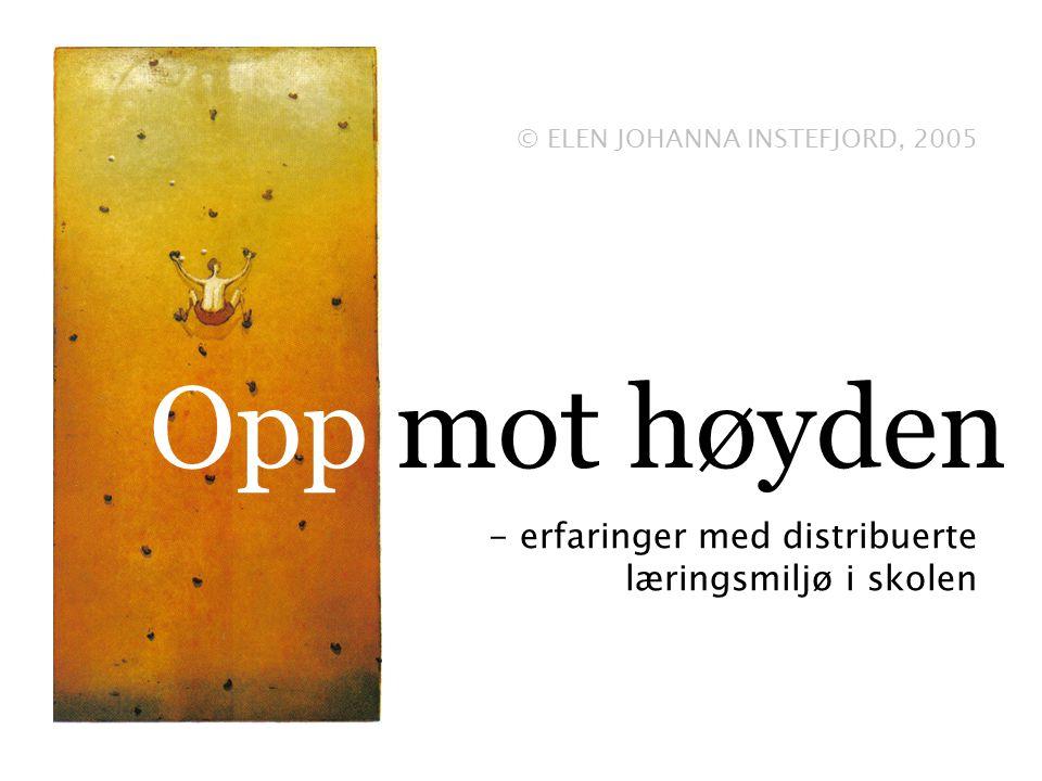 Opp mot høyden - erfaringer med distribuerte læringsmiljø i skolen © ELEN JOHANNA INSTEFJORD, 2005