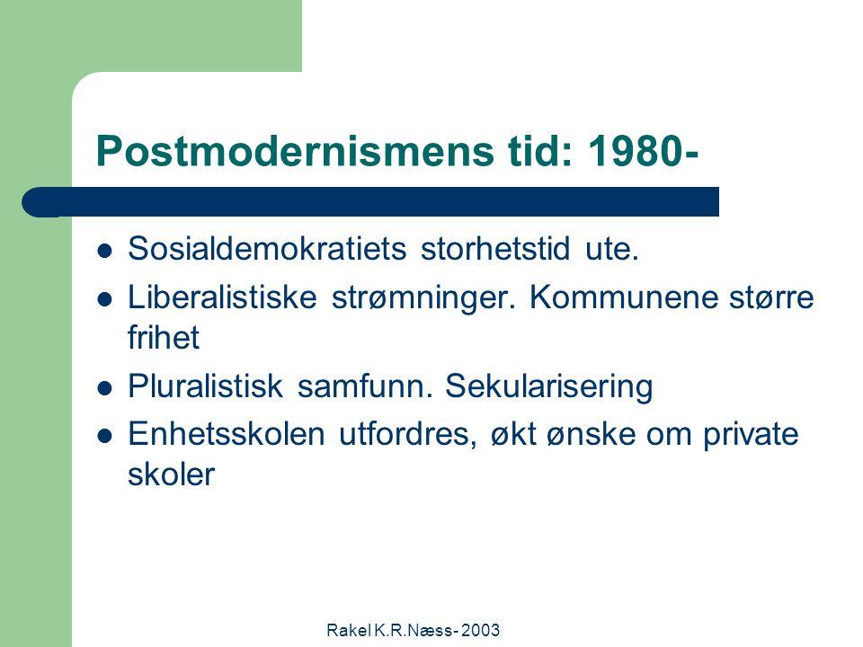 Rakel K.R.Næss- 2003