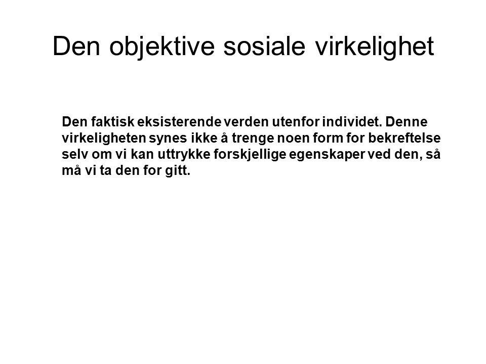 Litteratur: Aakvaag Gunnar.C: 2008.Moderne Sosiologisk Teori.
