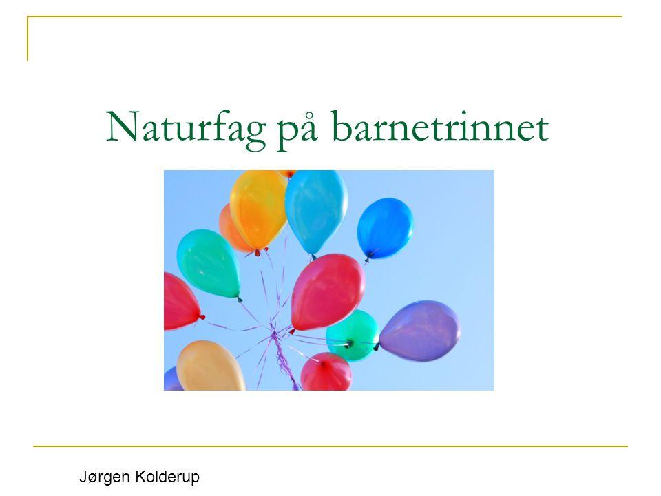 Læreplanen i naturfag FORSKERSPIREN 2.4.7.