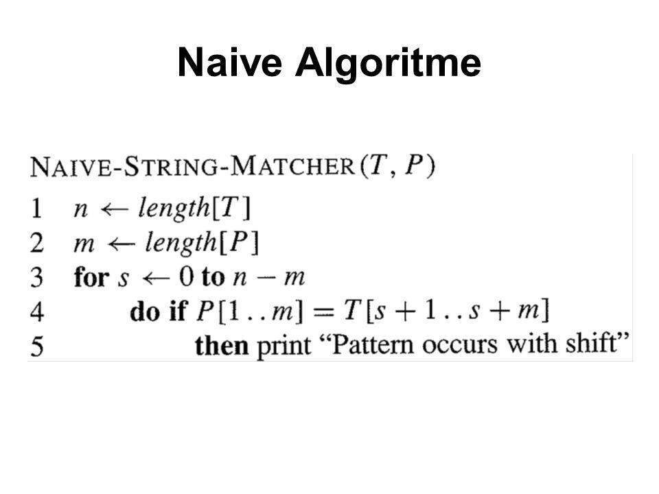 Naive Algoritme