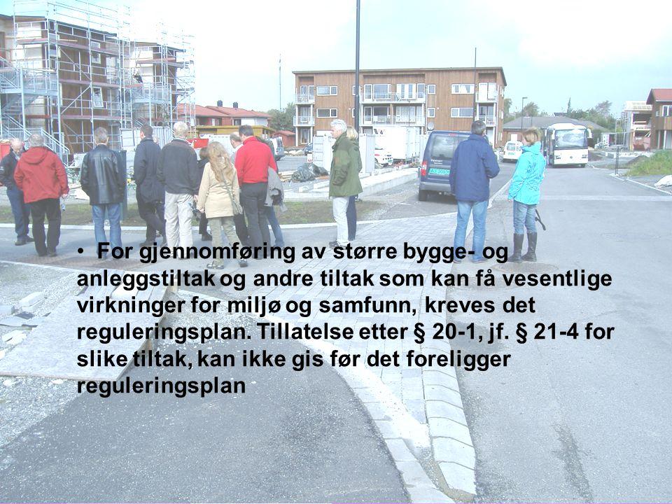 OPPSTART- MØTE KUNNGJØRE OPPSTART UTARBEIDE PLANUTKAST HØRING/ OFF.