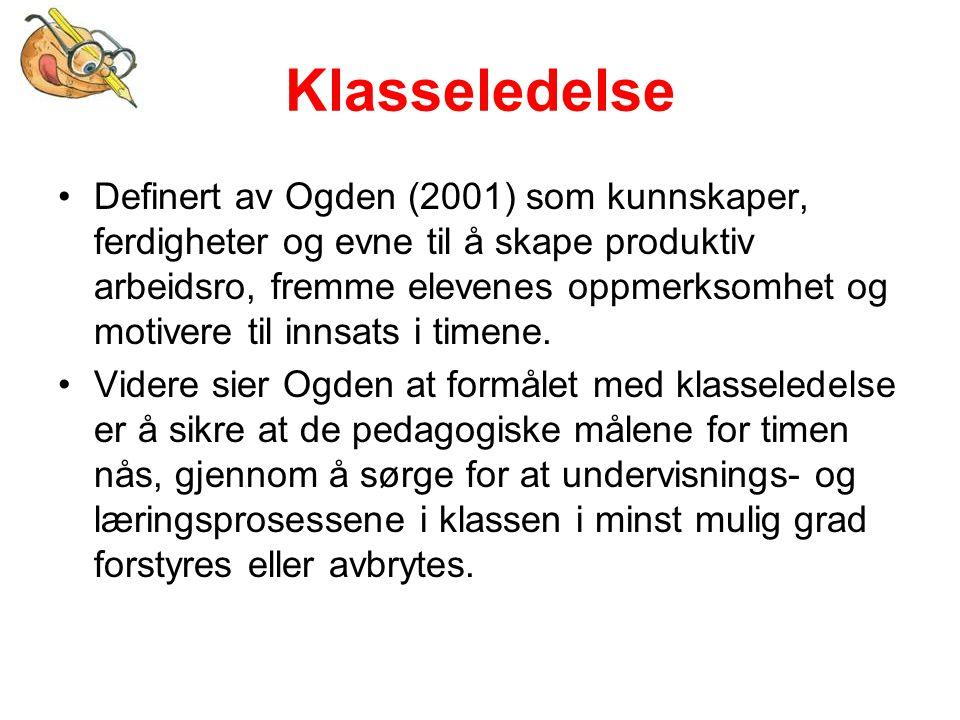 Litteratur Andreassen, R.(2005). Læringsstilmodeller.