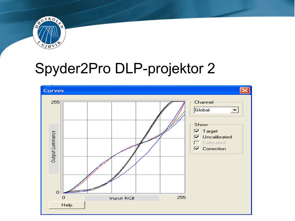 Spyder2Pro DLP-projektor 2