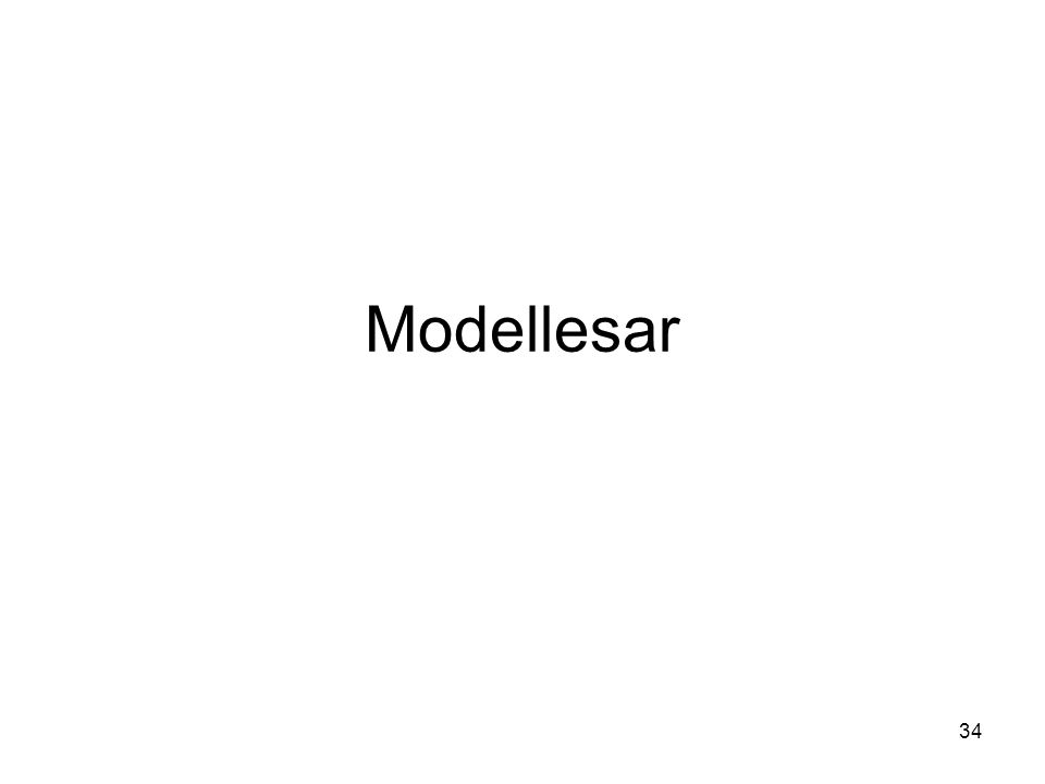 34 Modellesar