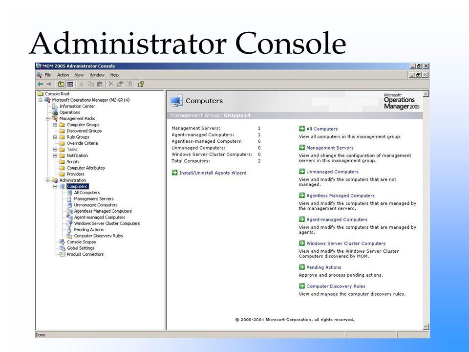 Administrator Console