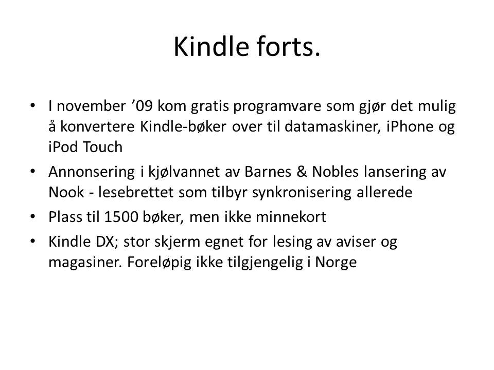 Gammel vs. Ny Kindle http://www.popularmechanics.com/technology/upgrade/4303102.html