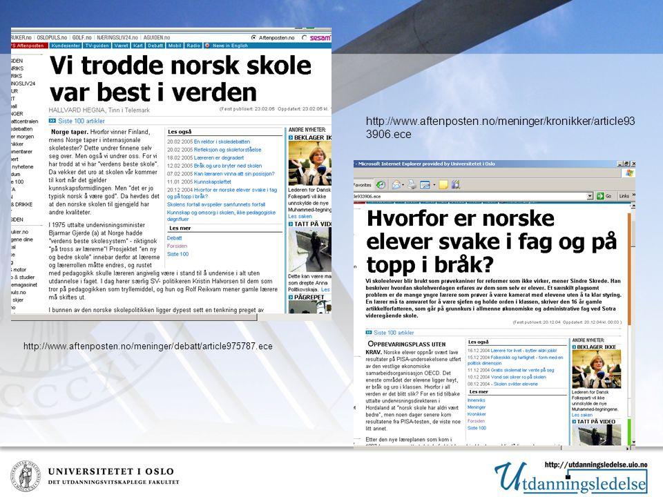 http://www.aftenposten.no/meninger/kronikker/article93 3906.ece http://www.aftenposten.no/meninger/debatt/article975787.ece