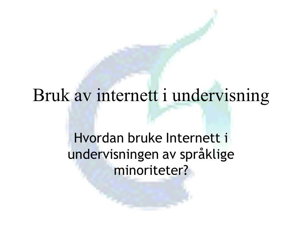 Høgskolelektor i samfunnsfag Vibeke Bjarnø, IT-seksjonen, Avdeling for lærerutdanning, Høgskolen i Oslo Ulike måter å finne fram på Internett Surfe Kjent URL - Internettadresse Søkemøtorer
