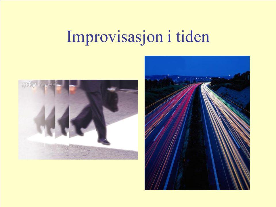 Improvisasjon i tiden