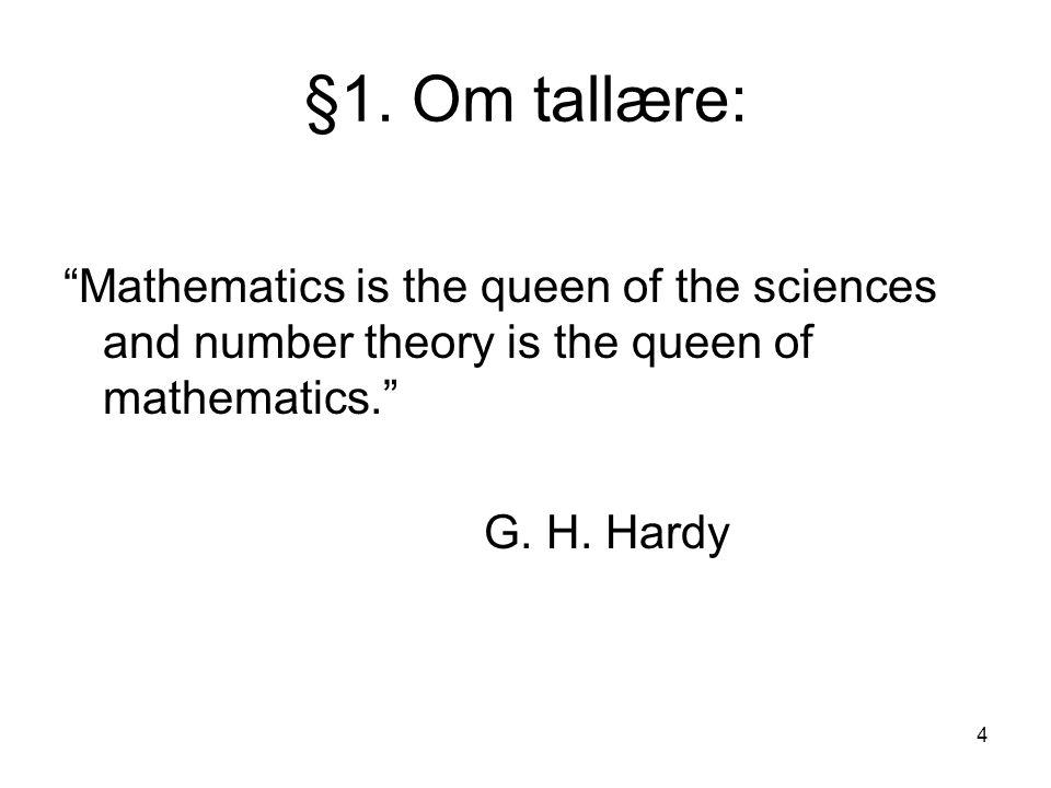 25 For at det skal være en heltallsløsning til 4e + 6b = 65, trenger vi følgende: Hvert helt tall som går opp i både 4 og 6, må også gå opp i 65.