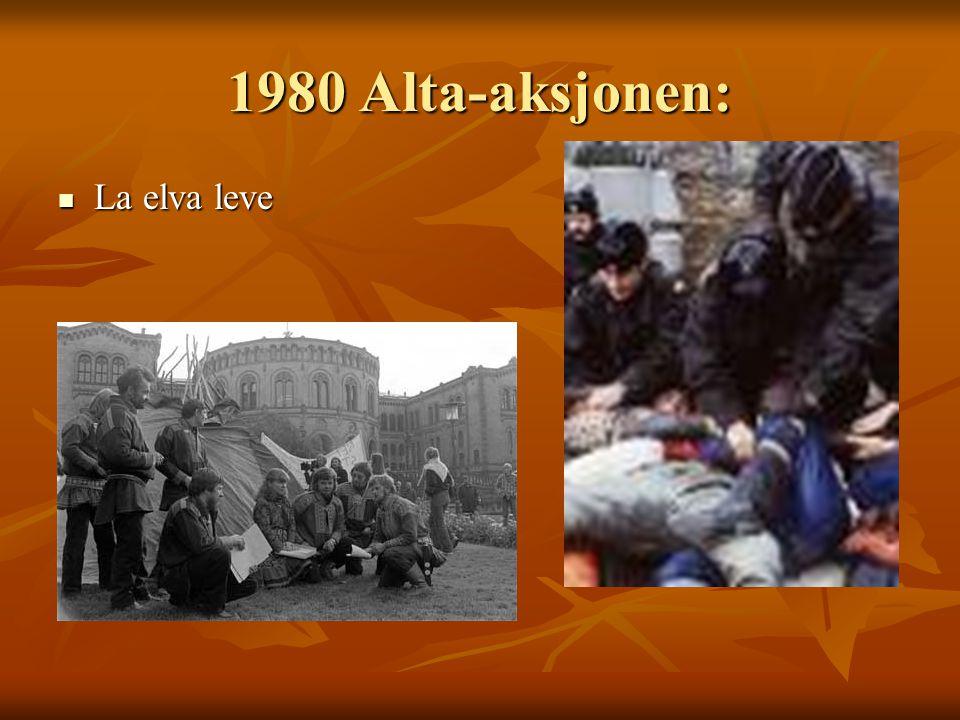 1980 Alta-aksjonen: La elva leve La elva leve