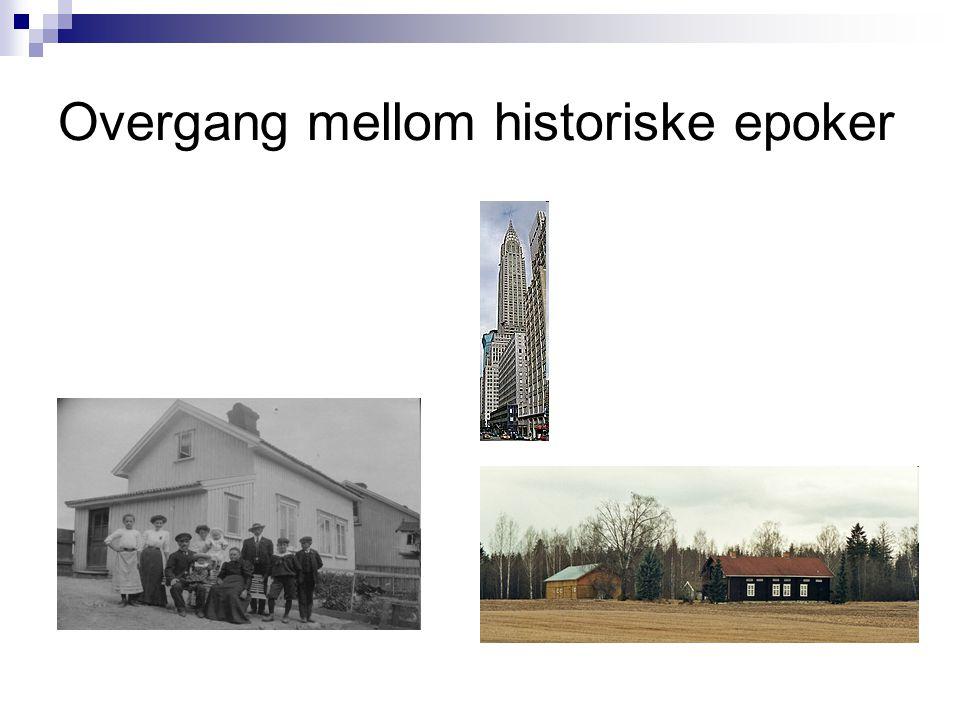 Overgang mellom historiske epoker