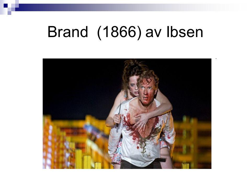 Brand (1866) av Ibsen