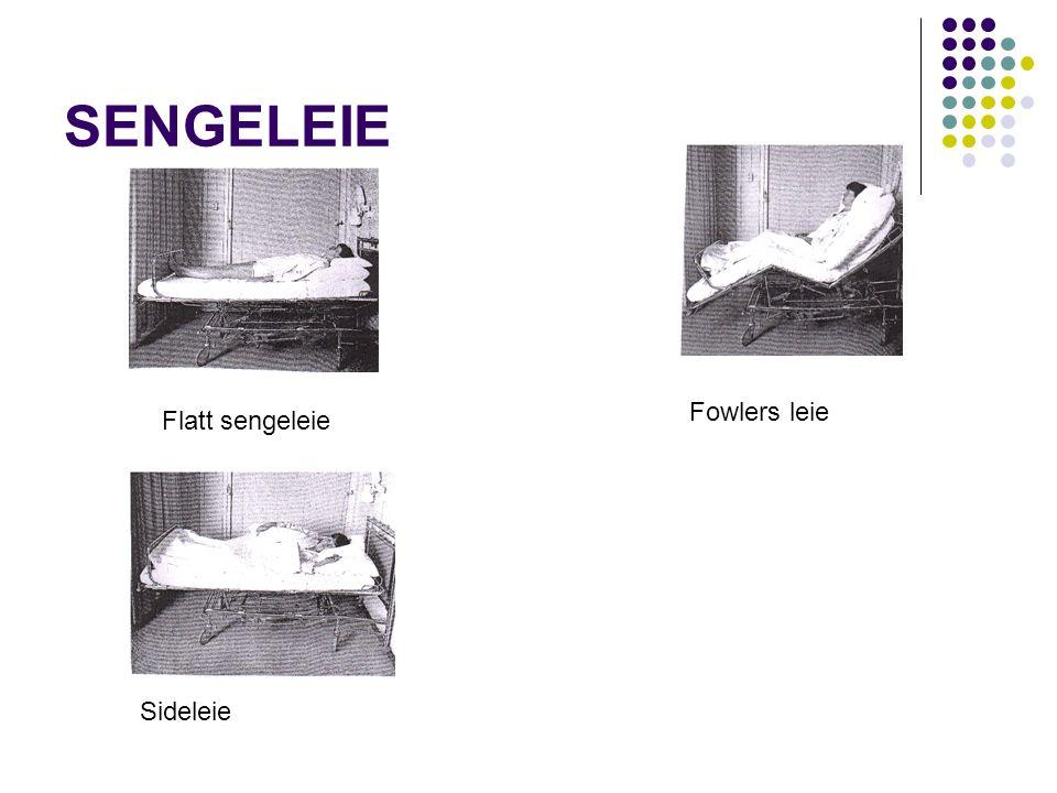 SENGELEIE Flatt sengeleie Fowlers leie Sideleie