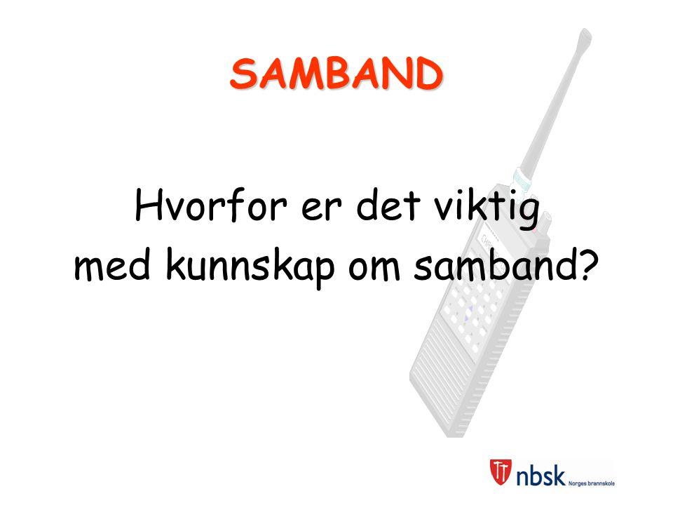 Sambandsøvelse SAMBANDSØVELSE NavnGruppeKanalRomLego-oppg.