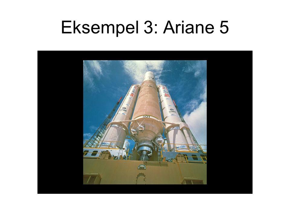 Eksempel 3: Ariane 5