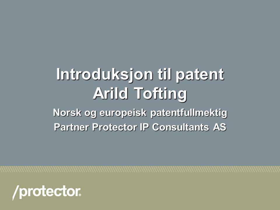 2 Hvordan er et patent bygget opp.