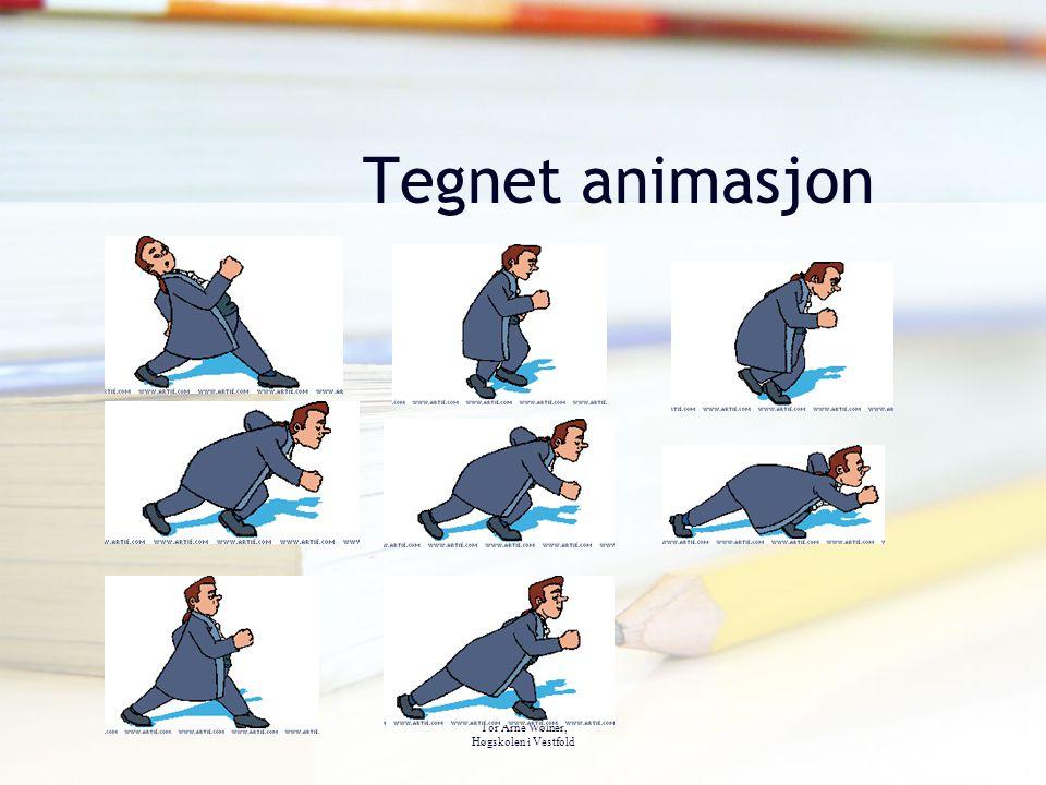 Tor Arne Wølner, Høgskolen i Vestfold Tegnet animasjon