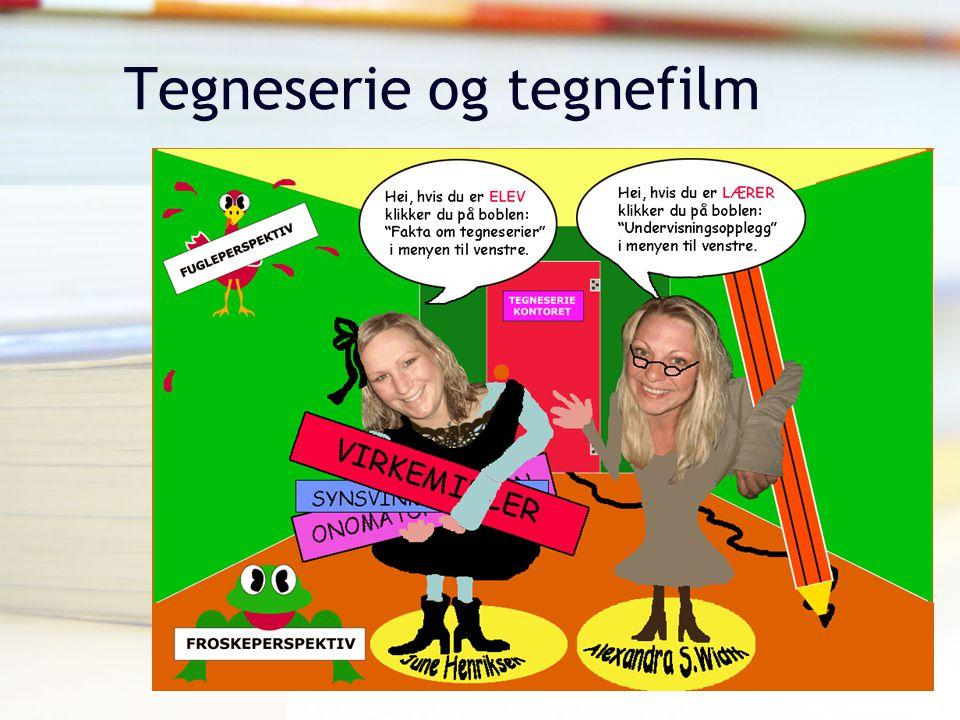 Tor Arne Wølner, Høgskolen i Vestfold Tegneserie og tegnefilm
